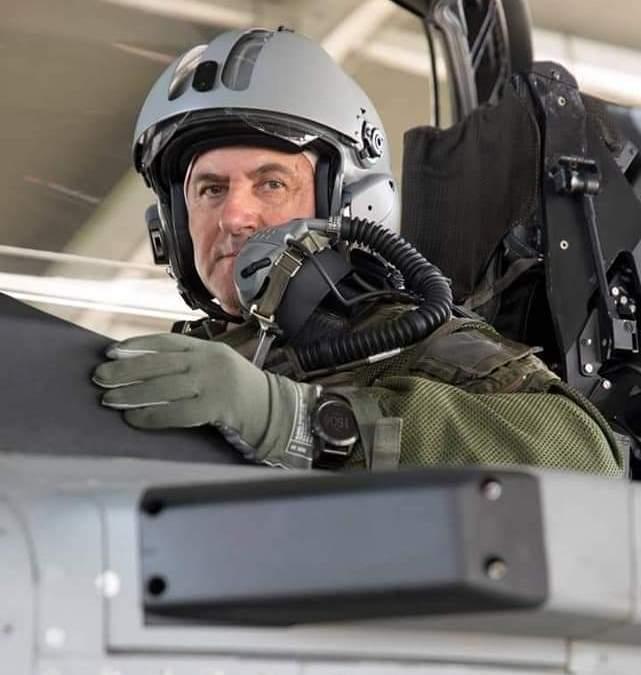 Ο Αρχηγός ΓΕΑ πέταξε με τα νέα RAFALE
