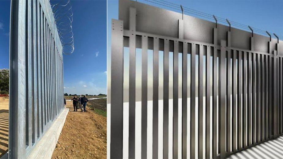 Έτσι θα είναι ο φράχτης που «σφραγίζει» τα σύνορα στον Έβρο