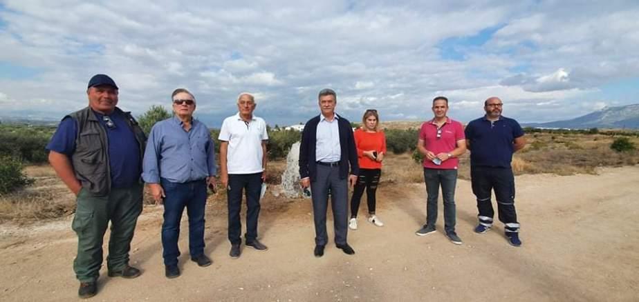 Το επεξεργασμένο νερό του Βιολογικού θα αρδεύει καλλιέργειες στο δήμο Κορινθιων