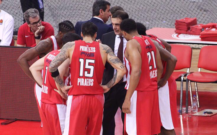 Ολυμπιακός: Και πέμπτο κρούσμα κορονοϊού στην ομάδα μπάσκετ