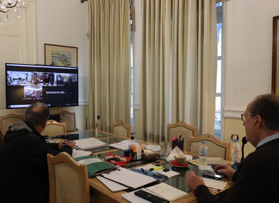 Τις Διευθύνσεις Τεχνικών έργων σε όλες τις Π.Ε. θα επισκεφθεί μέσα στον Ιανουάριο ο περιφερειάρχης Πελοποννήσου Π. Νίκας