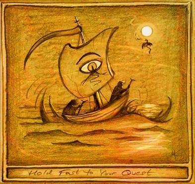The Farthest Shore. Image by Ursula K. Le Guin.