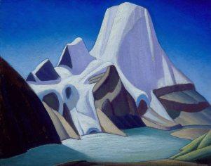 Lawren Harris' Mount Robson from the Northeast