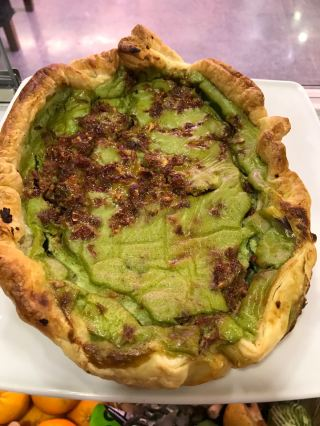 Quiche de batata y mostaza de Ekotania
