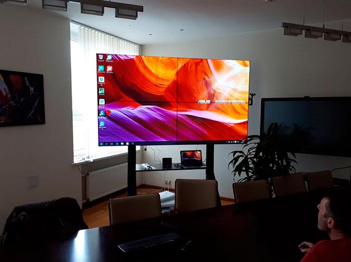 LCD видеостены