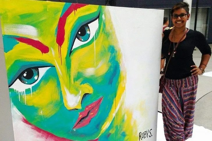 The Hustling Artist: Ruby Subramaniam