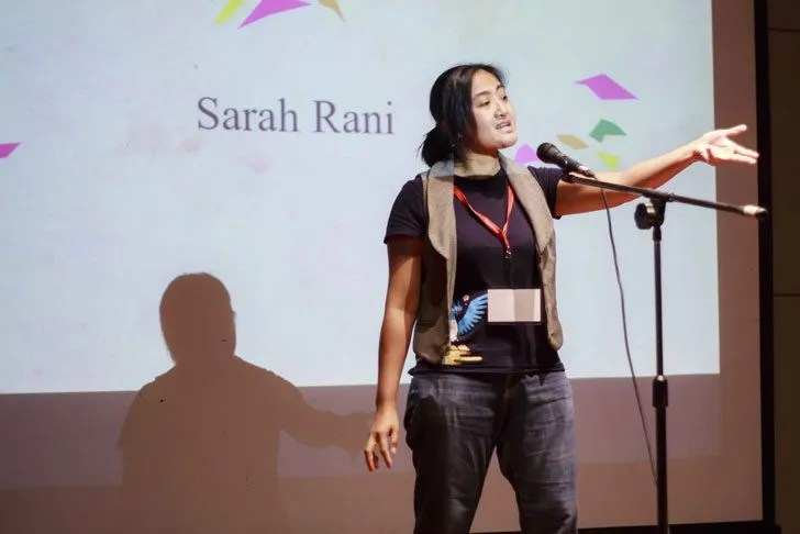 Sarah Rani returns this year to clinch the joint second spot with UCSI's Gwendoline Esther Hay Ai Yin. Image courtesy of UCSI University.