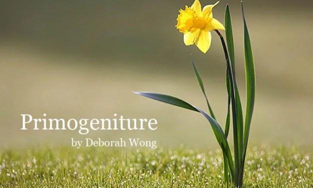 POETRY | Primogeniture by Deborah Wong