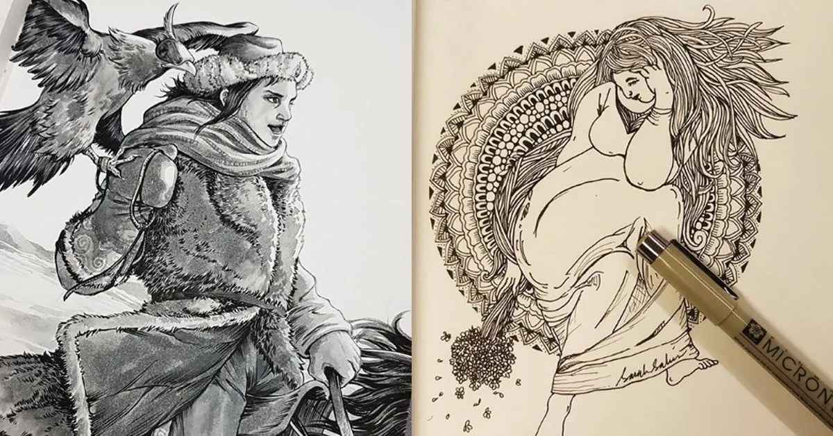 Malaysian Artists You Have To Follow Throughout Inktober 2019