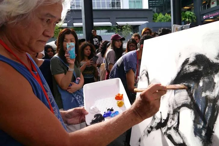 OPINION | Art Battle- Why it is good to splash it all out by Stan C.H. Lee