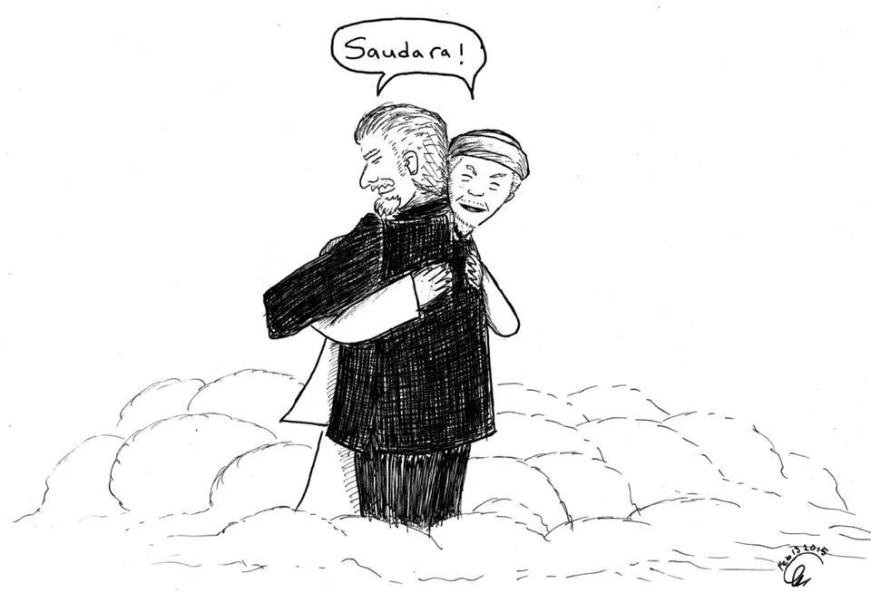 A rejected cartoon by TRP. Artwork by Sukhbir Cheema
