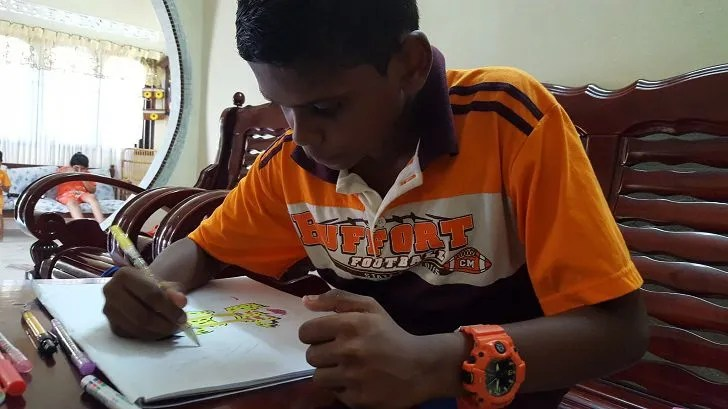 Meet 13-year-old Navien Murugan from Bagan Serai, Perak
