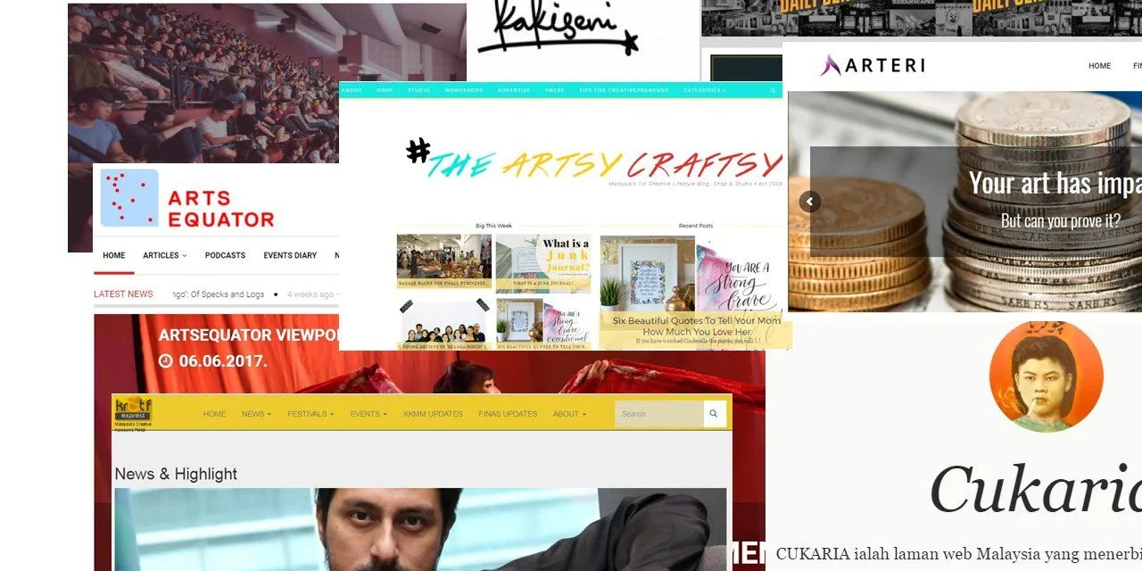 Websites to bookmark if you love the Malaysian art scene
