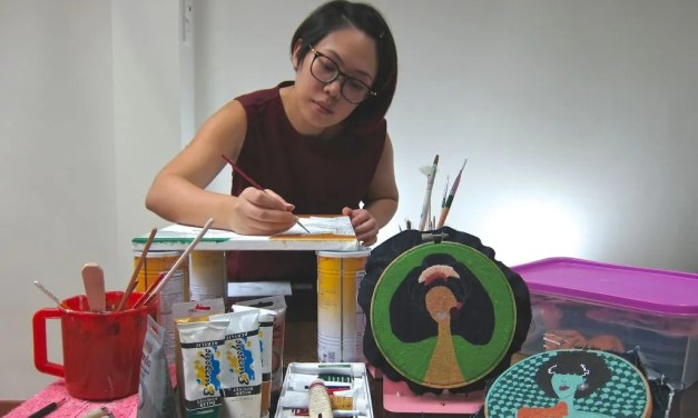 Need the antidote to get through the day? Check out this artist's artworks!