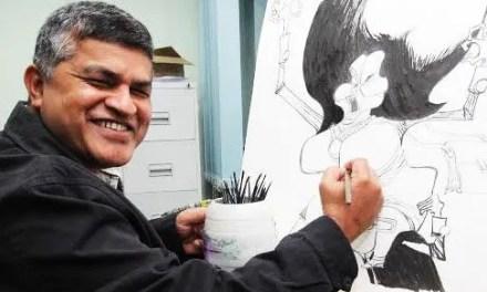 """Talent is a responsibility,"" Malaysian cartoonist Zunar says"