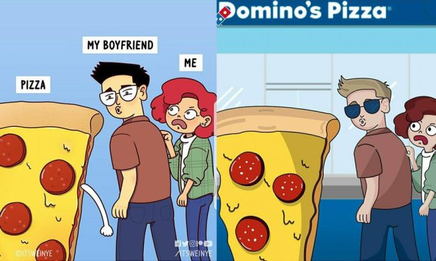 Oi apa nih! Malaysian artist's comic gets plagiarised by Domino's Pizza!