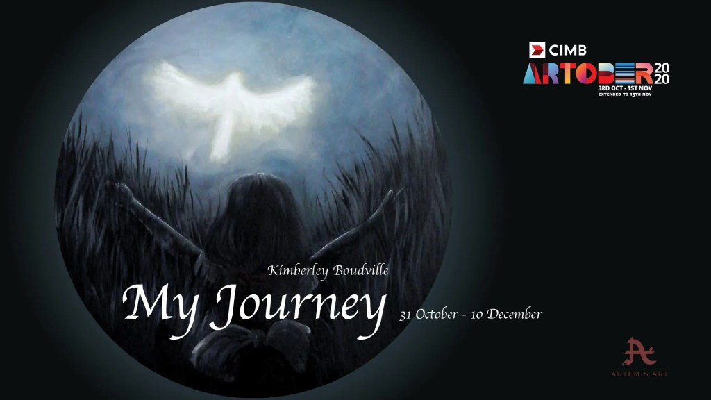 My Journey – a solo exhibition by Kimberley Boudville