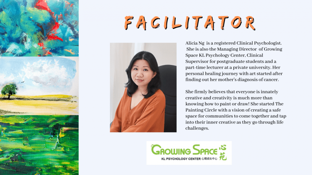 The Painting Circle: Journeying Life Transitions with Painting and Conversations