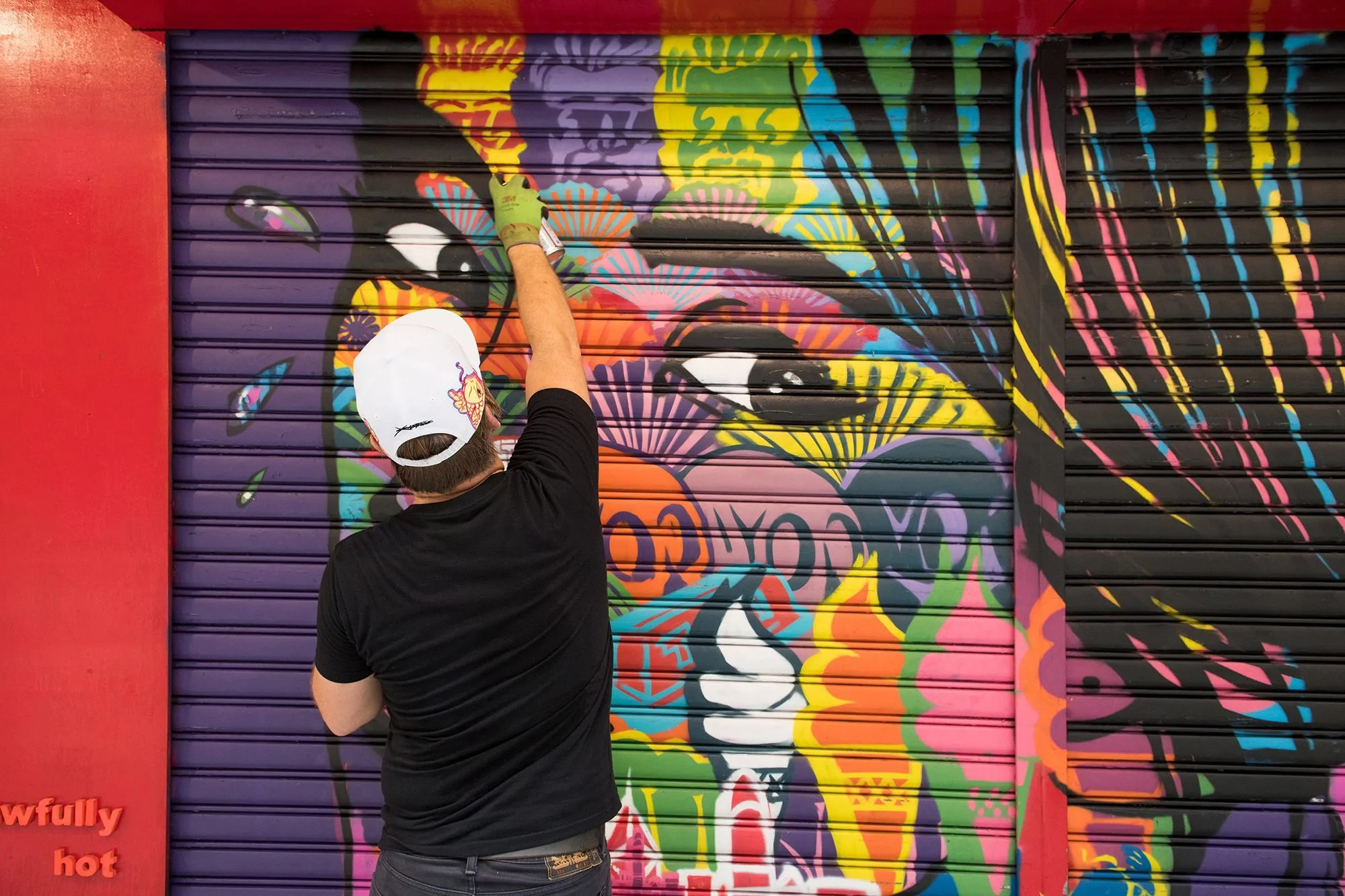 Get To Know The Stories Behind Hong Kong's Colourful Street Art