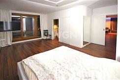 na zdjęciu sypialnia w apartamencie na sprzedaż, Szczecin