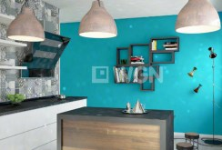 nowoczesna kuchnia znajdują się w apartamencie do sprzedaży w Legnicy