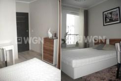 dwa ujęcia luksusowej sypialni w apartamencie do wynajmu w Toruniu