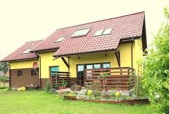widok od strony ogrodu na willę w Szczecinie do sprzedaży
