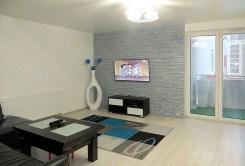 zdjęcie przedstawia salon w apartamencie w Lubinie do sprzedaży