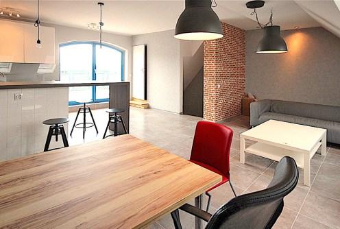 na zdjęciu ekskluzywne wnętrze apartamentu do wynajęcia w Szczecinie