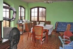 salon znajdujący się w posiadłości w okolicy Olkusza na sprzedaż