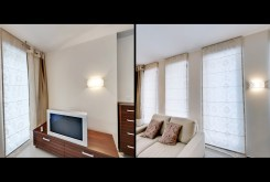 zdjęcie prezentuje fragment salonu w apartamencie w Szczecinie na sprzedaż