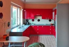 luksusowo urządzona i umeblowana kuchnia w apartamencie do sprzedaży w Białymstoku