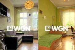 zdjęcie przedstawia dwa luksusowo wyposażone pokoje w apartamencie w Legnicy do sprzedaży