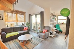 zdjęcie przedstawia salon w apartamencie w Szczecinie do sprzedaży
