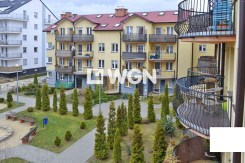 widok jaki roztacza się z balkonu apartamentu do sprzedaży w Legnicy