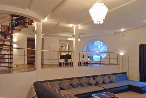 na zdjęciu ekskluzywne wnętrze luksusowej willi w Łodzi