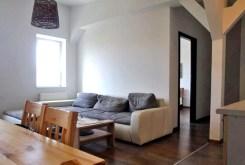 widok na salon w apartamencie do sprzedaży w Szczecinie