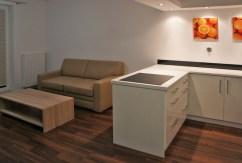 na zdjęciu fragment luksusowego wnętrza ekskluzywnego apartamentu do wynajęcia w Szczecinie