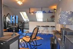 zdjęcie przedstawia aneks kuchenny w luksusowym apartamencie w Kwidzynie na wynajem
