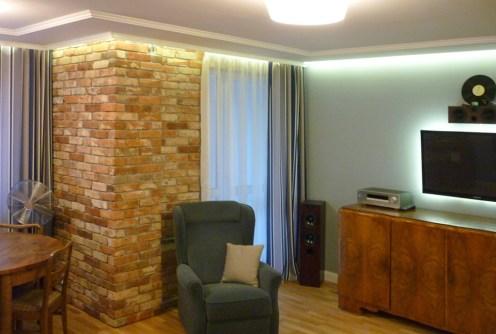 na zdjęciu wnętrze luksusowego apartamentu na sprzedaż w Olsztynie