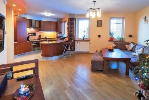 na zdjęciu luksusowe wnętrze ekskluzywnego apartamentu do sprzedaży w Białymstoku