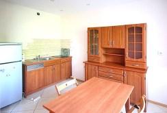 na zdjęciu komfortowa kuchnia w apartamencie w Szczecinie na wynajem
