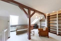 pokój na górnym poziomie luksusowego apartamentu w Szczecinie do sprzedaży