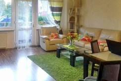 zdjęcie prezentuje salon w ekskluzywnym apartamencie do wynajęcia w Szczecinie