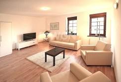 nowoczesny, komfortowy salon w luksusowym apartamencie w Szczecinie do wynajęcia