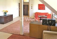 widok na salon w ekskluzywnym apartamencie do wynajęcia w Szczecinie