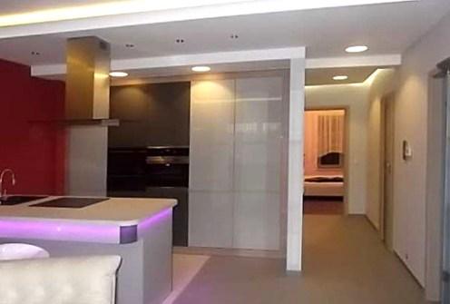 na zdjęciu komfortowe wnętrze luksusowego apartamentu do wynajęcia w Toruniu