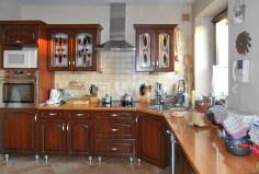 ekskluzywnie wyposażona kuchnia w luksusowej willi w Katowicach do sprzedaży