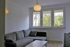 widok na salon w ekskluzywnym apartamencie do sprzedaży we Wrocławiu