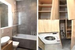 zdjęcie przedstawia łazienkę w komfortowym apartamencie do wynajmu w Szczecinie